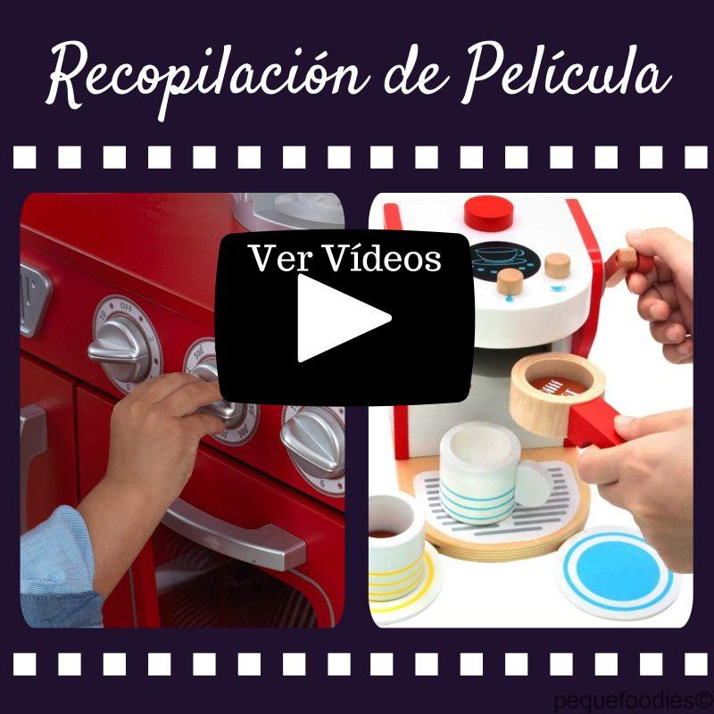 Vídeos con las últimas novedades en Cocinas de Juguete y sus complementos